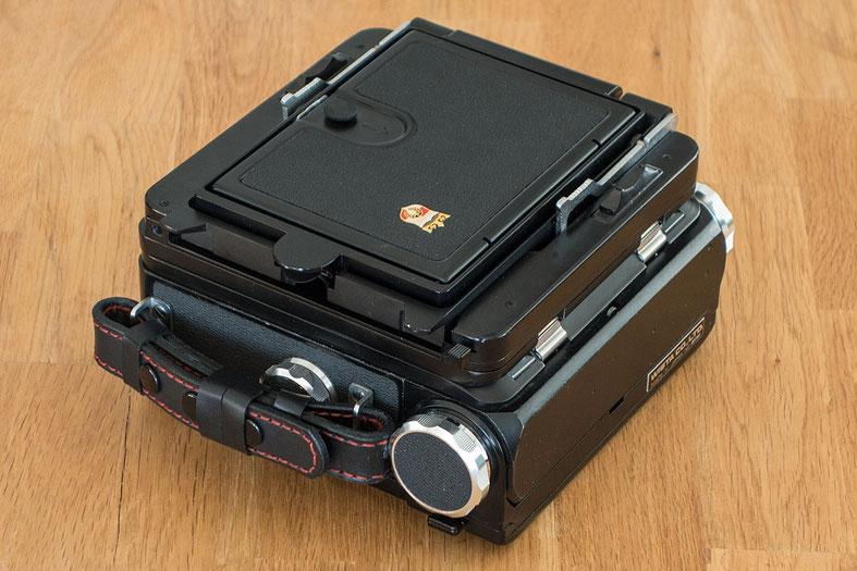 Wie kompakt lässt sich die WISTA 45SP für Fotowanderungen zusammenklappen? Foto: bonnescape.de