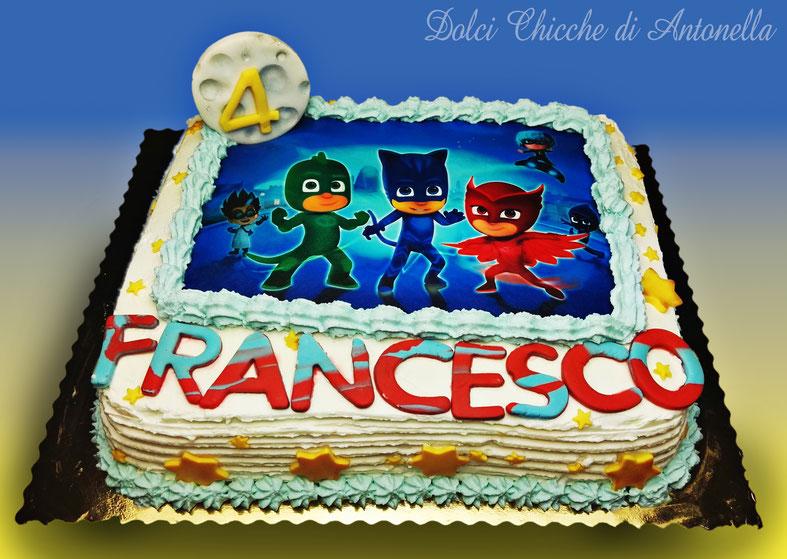 pj masks -torte-dolci-pigiamini-la spezia-liguria-torte decorate-cake design
