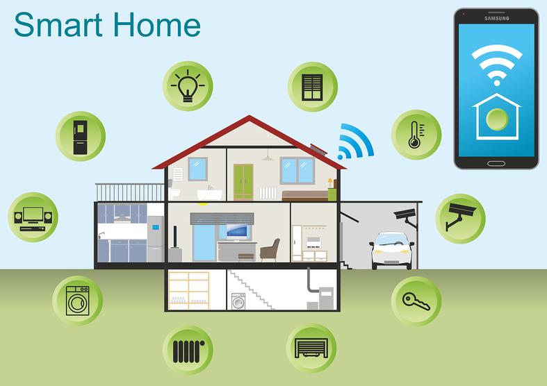 Smart Home - intelligente Haussteuerung - Haustechnik, Blockhaus, Holzhaus, Blockbohlenhaus, Fertighaus, Schwedenhaus, Massivhaus, Fachwerkhaus, Energiesparenx