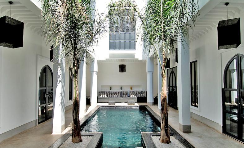 location riad 12 personnes marrakech