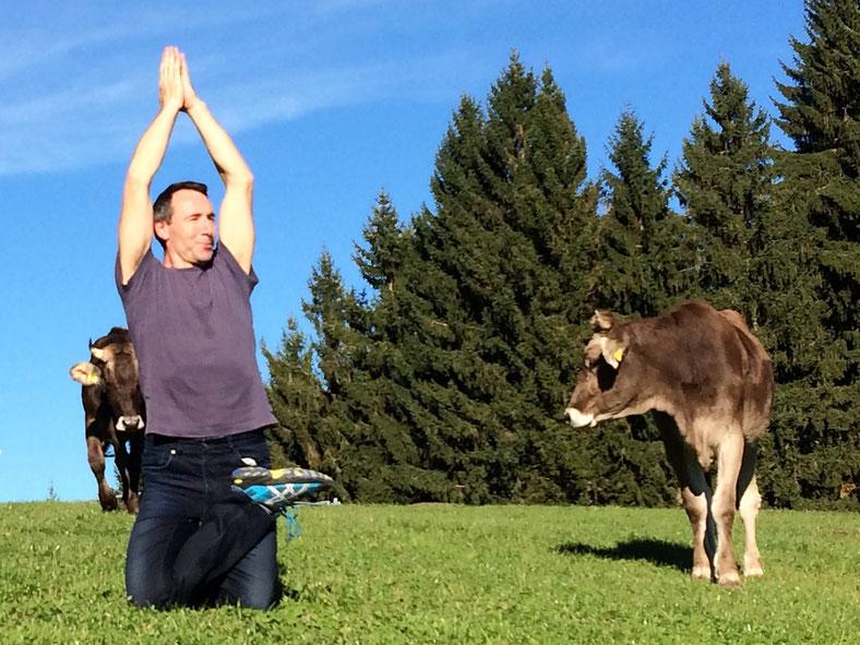 Marcel Christen, Gründer der Tridosha Yogaschule in Horgen