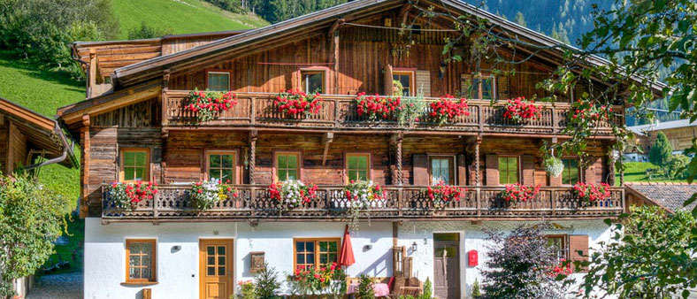 Urlaub in Weißenbach im Appartment Kaser im Ahrntal