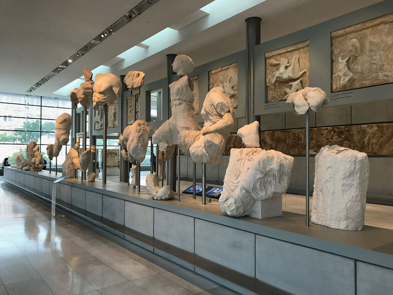 Athens Greece ofpenguinsandelephants Acropolis museum of penguins and elephants