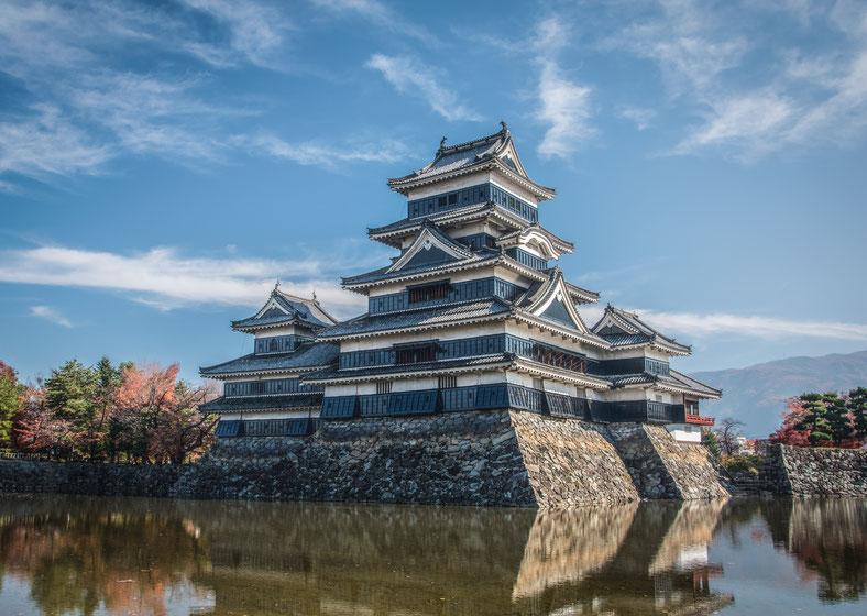 Lo spettacolare Castello di Matsumoto