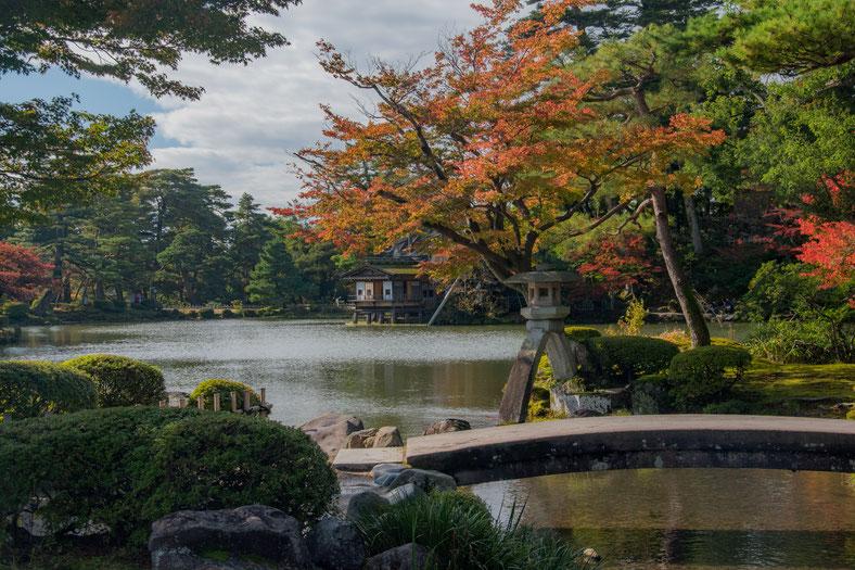 Splendidi colori al Kenroku-en