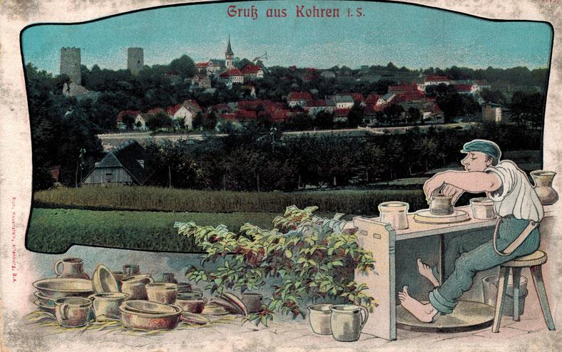 Ansichtskarte von Kohren