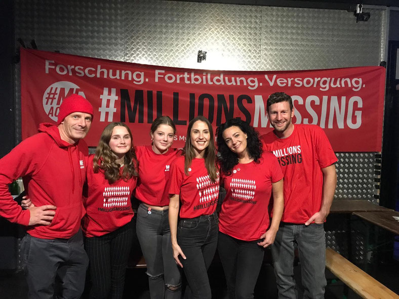 #MillionsMissing Deutschland Team vor Ort beim Benefizkonzert Rap For Good