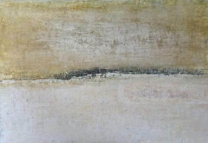 """ Coastline "" - Acrylic on canvas - 120W x 82H x 2cm"