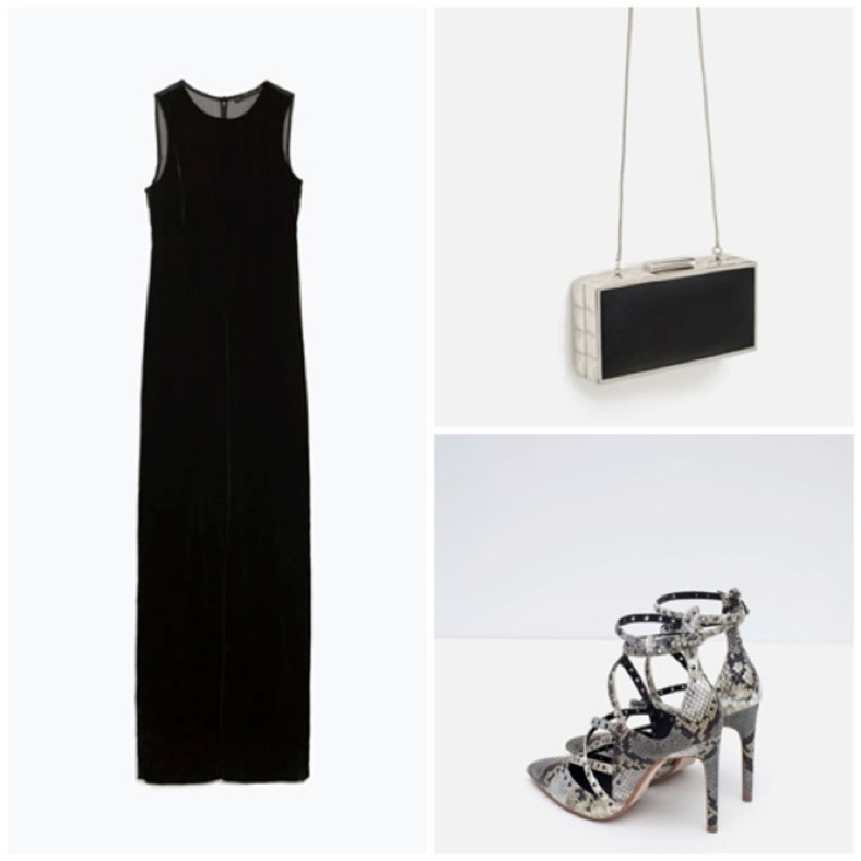 ZARA: JUMPSUIT, SHOES, BAG