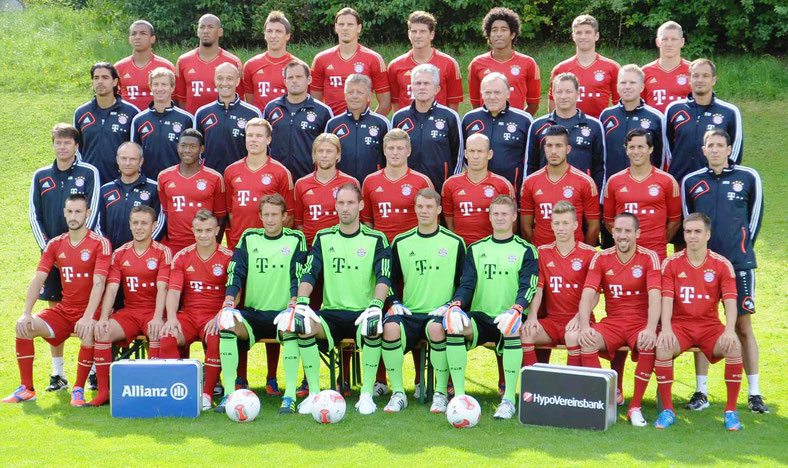 FC Bayern München - Mannschaft Saison 2012/2013