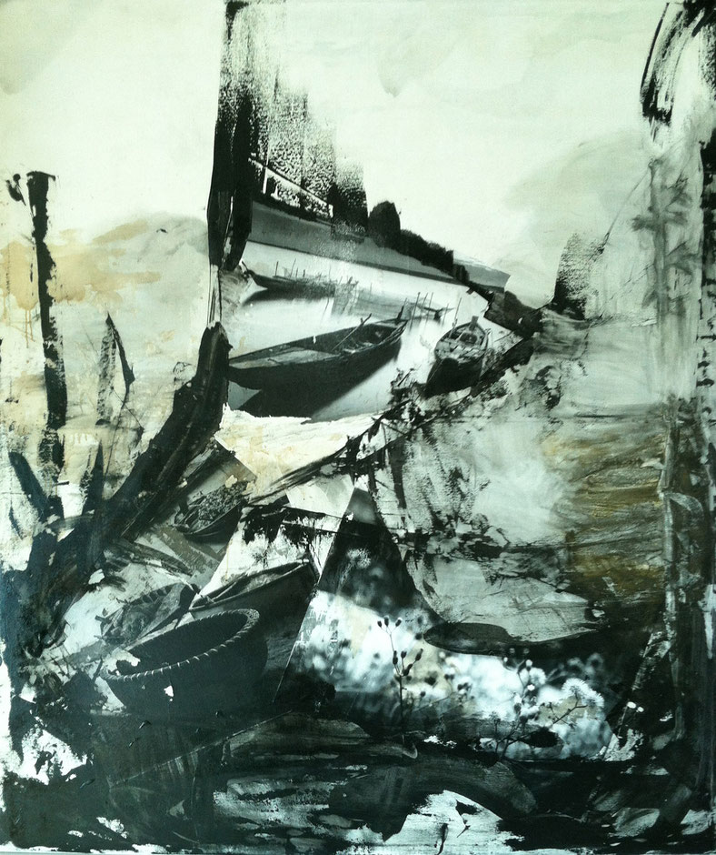 photography by: Julie Worsham | mixed media collaboration on canvas