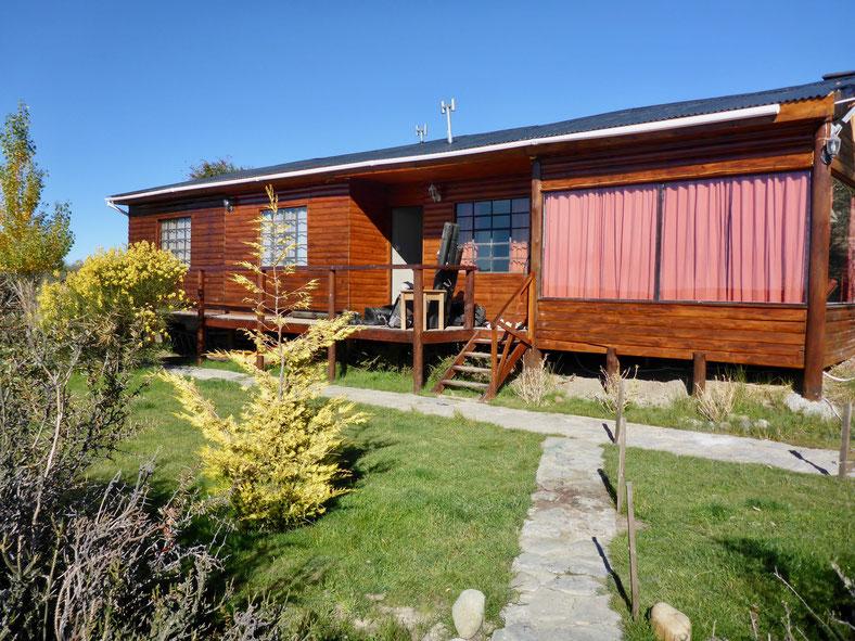 Los Plateados Lodge am Santa Cruz