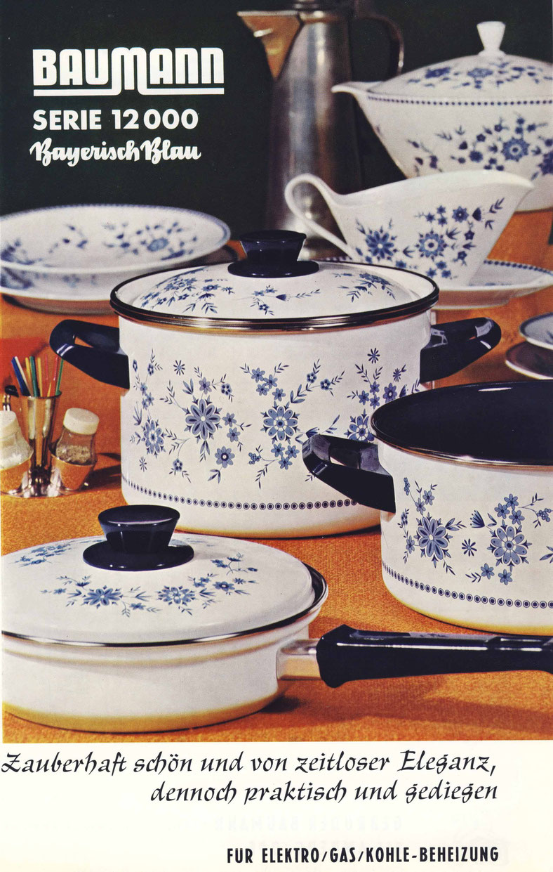 Bayrisch Blau ein sehr erfolgreiches Dekor