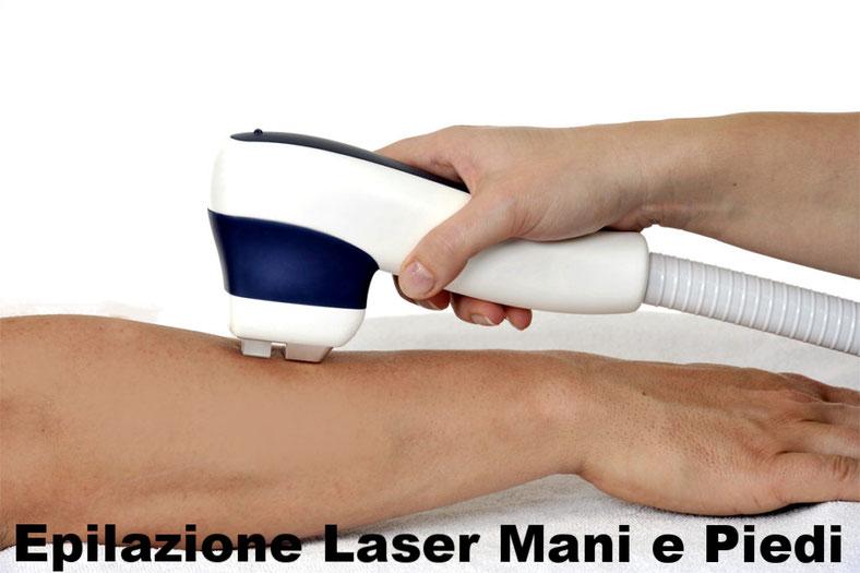 Epilazione Laser Mani e Piedi uomo