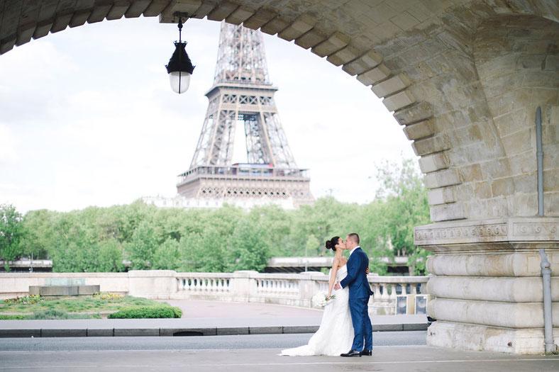 elegant intimate wedding in Paris