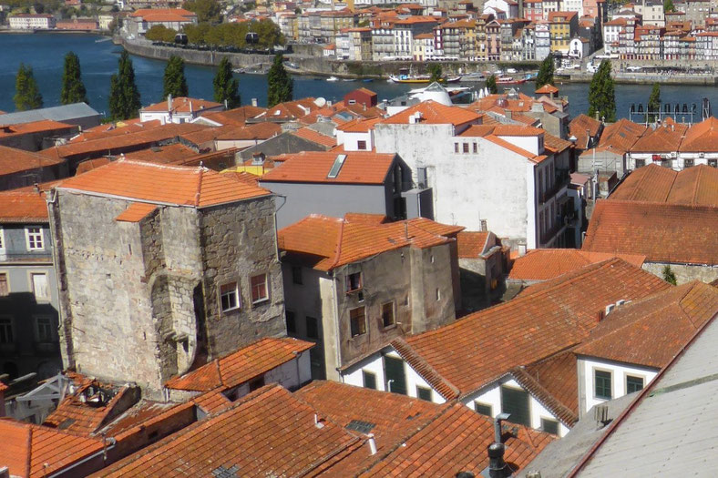 Vila Nova de Gaia from above