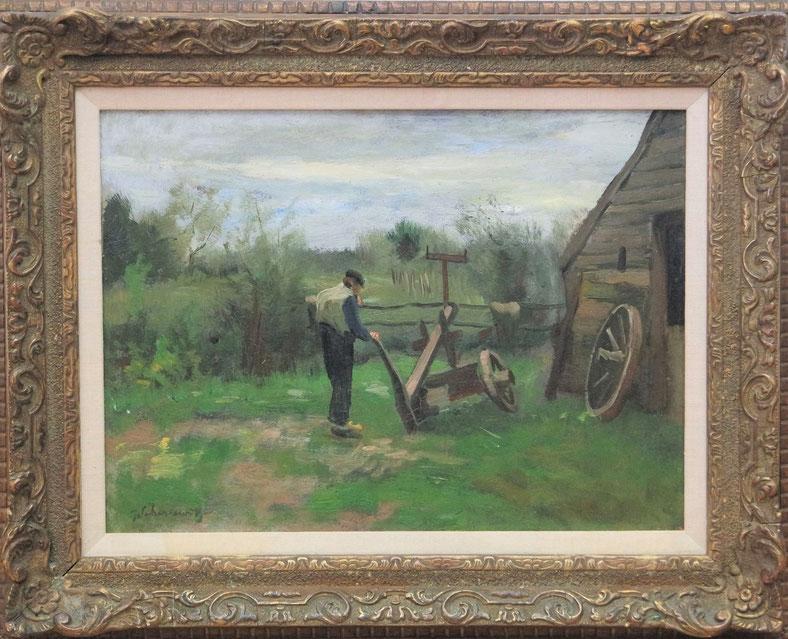 te_koop_aangeboden_een_schilderij_van_de_nederlandse_kunstschilder_johan_frederik_scherrewitz_1868-1951_haagse_school