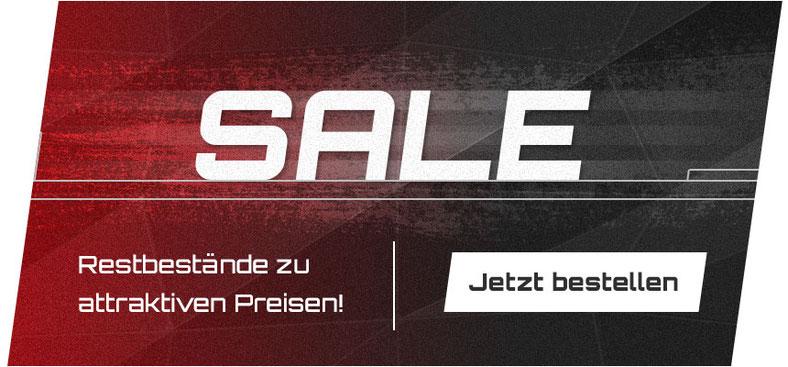 Sale - Jetzt Restbestände zu attraktiven Preisen bestellen!