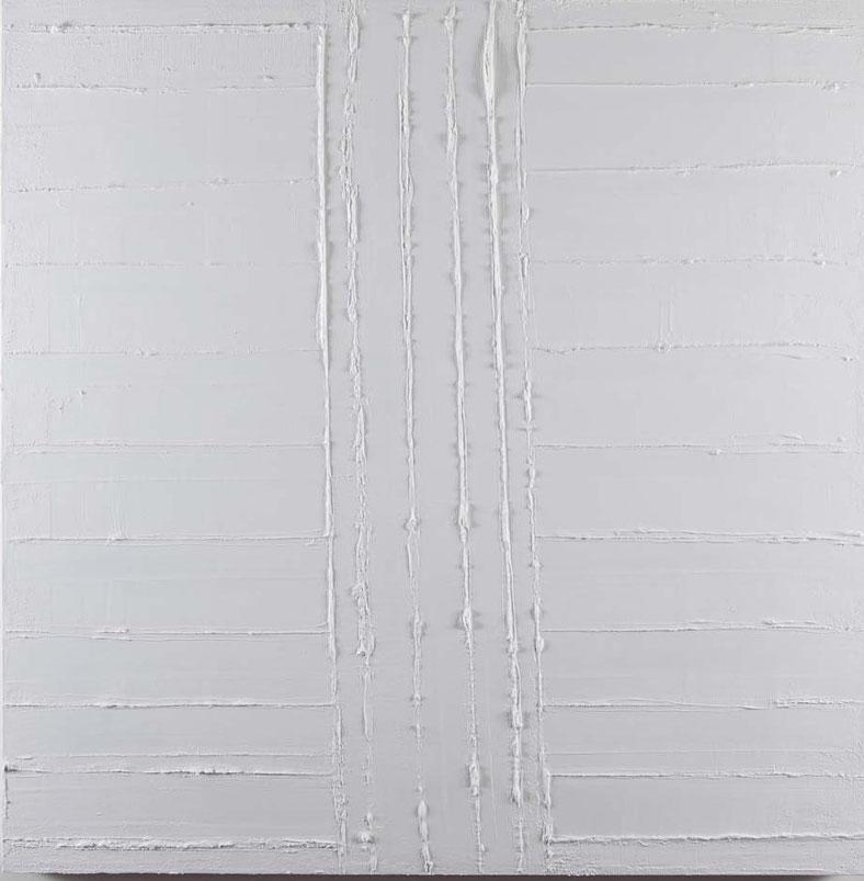 White noise 3.Acrilico su tel.2014  Collezione privata
