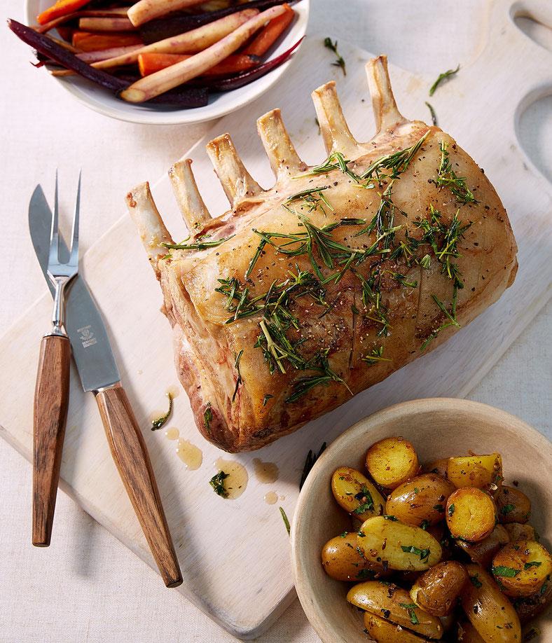 Schweine-Karree mit Kräutern der Provence - Fleischerei Bechtel - Rezepte