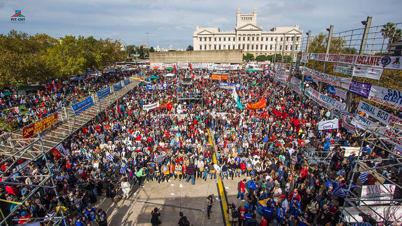 Primo maggio 2018, Montevideo (Uruguay)