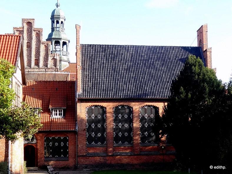 westliche Fassade des alten Stadtarchivs