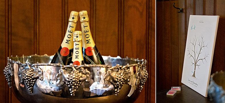 moet champagner, hochzeit, schloss purchstein, fotostudio lichtecht, ben pfeifer, hochzeitsfotograf