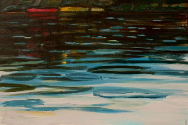 Ohne Titel, 2016 Acryl auf Leinwand 80x120