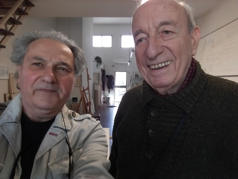 con Riccardo Guarneri. 2019