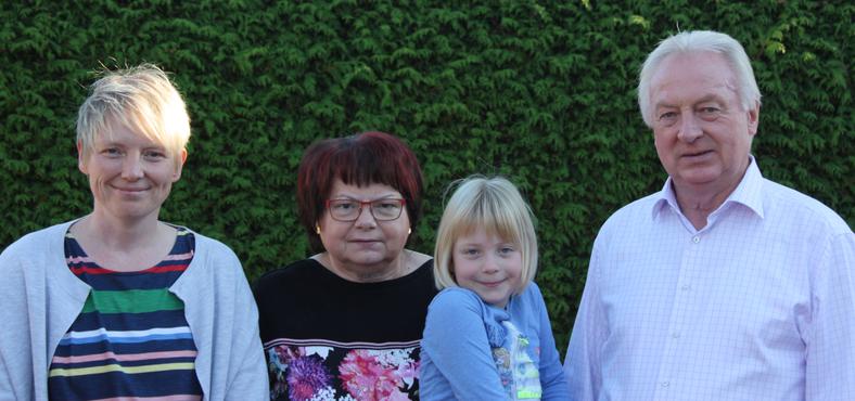 Familie Husmann, Gründer und Inhaber der Firma Husmann Heide-Jungpflanzen in Borstel, Niedersachsen