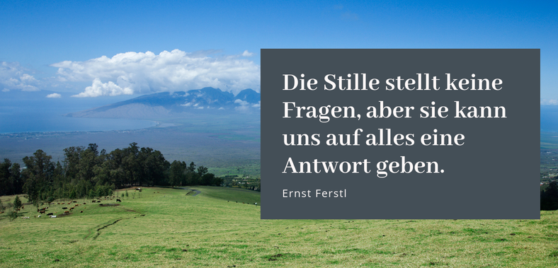 Pause Ruhe Innehalten Gastbeitrag Christa Ostertag #Pause