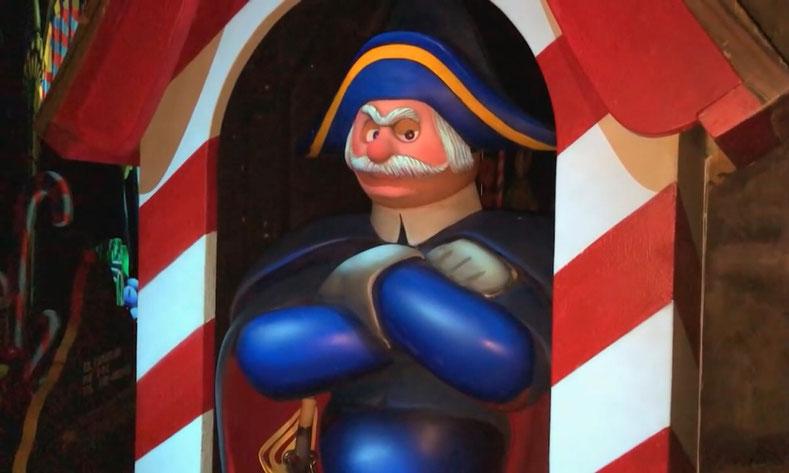 La réhabilitation de l'attraction Les Voyages de Pinocchio