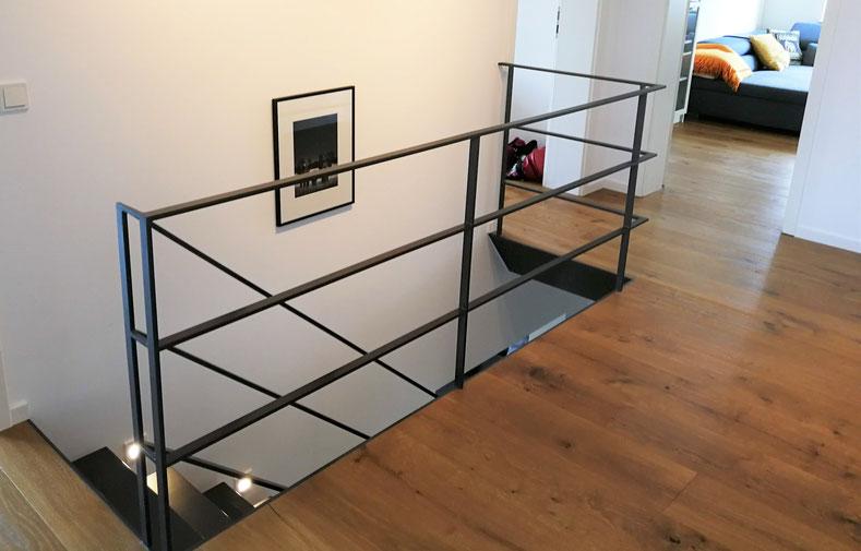 Flurplanung Treppenaufgang, Rolf Kullmann Atelier Feynsinn, Köln