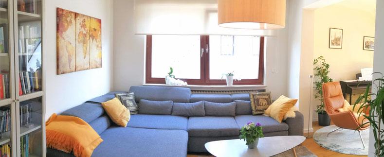 Planung eines kleinen Wohnzimmers, Rolf Kullmann Atelier Feynsinn, Köln