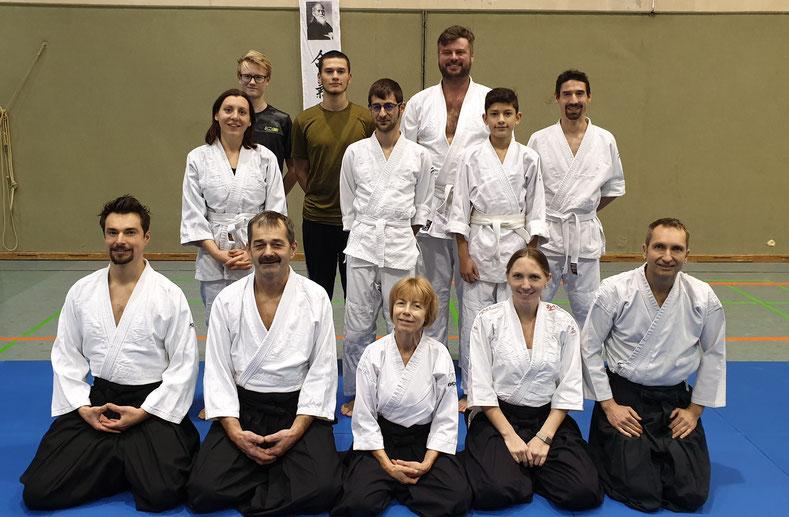 Gruppenfoto Sektion Aikido, Sportunion Schärding