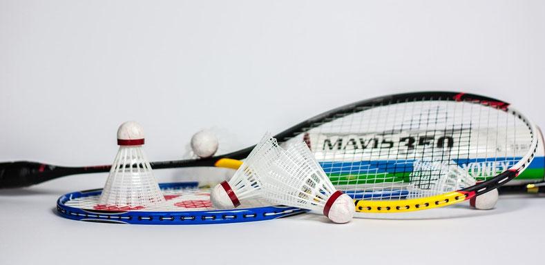 """Hier befinden sich archivierte Fotos der Sektion Badminton.  Per """"Weiter"""" oder per Navigation rechts, gelangen Sie zu den jeweiligen Bildern."""