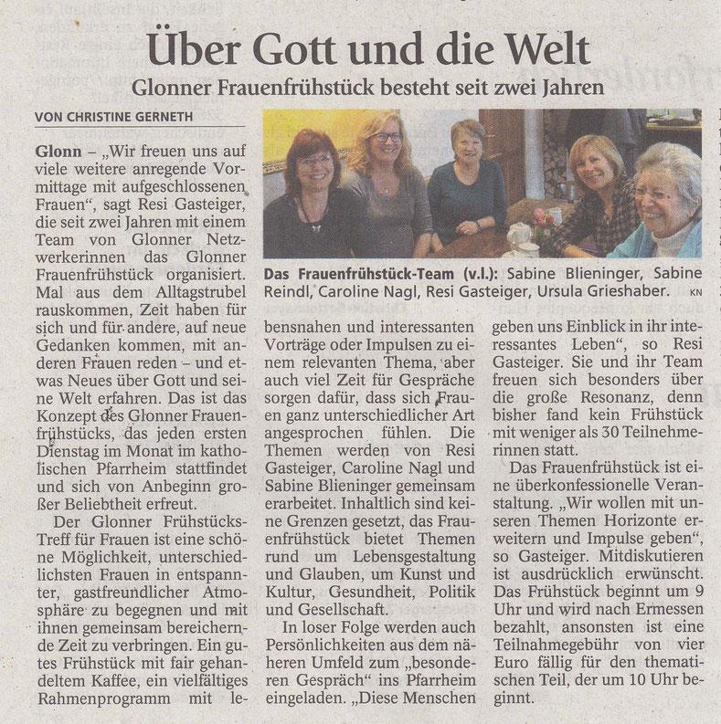 Ebersberger Zeitung im März 2016