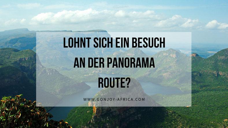 Panorama Route Südafrika Reise