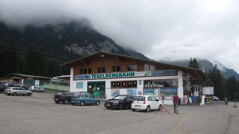 bavière allemagne tegelberg station montagne