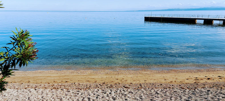 Izola, San Simon beach