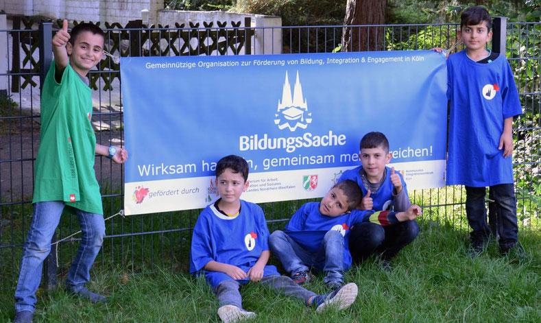 BildungsSache, kostenlose Förderprogramme für benachteiligte Kinder und Jugendliche