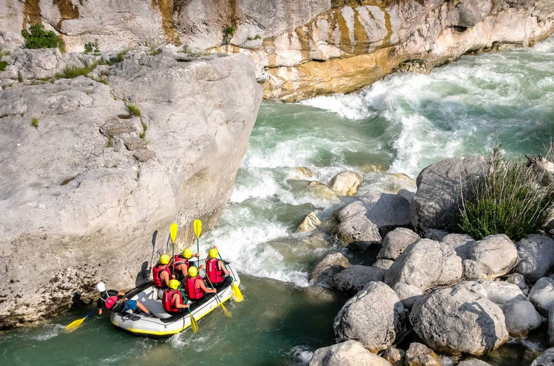 Rafting Verdon River