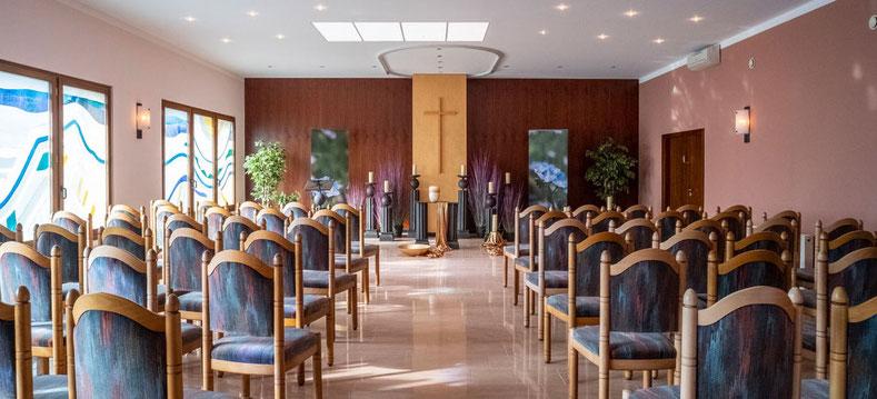 Aue Bestattungen - Trauerhalle Stammhaus