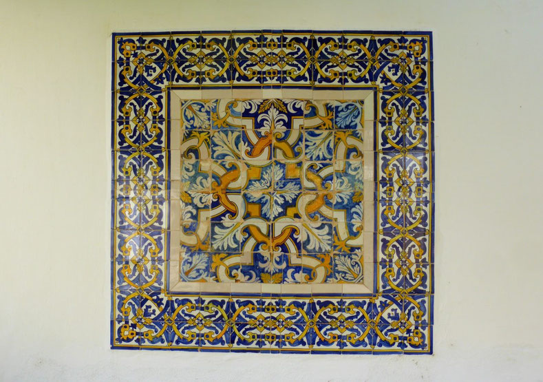 Decorative tile panel