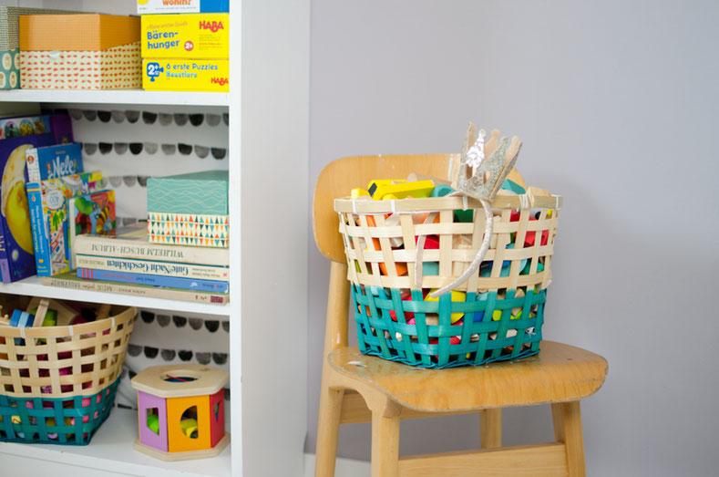 Kinderzimmer Dekoration Bücher