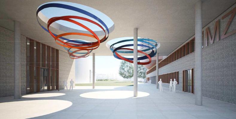 Wettbewerb Kunst-am-Bau, Materialwissenschaftliches Zentrum für Energiesysteme, Karlsruhe