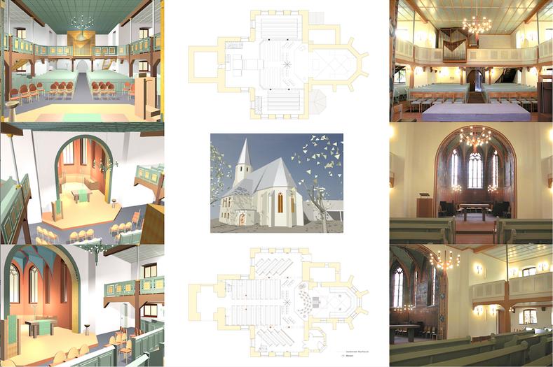 Renovierung Ev. Kirche, Eggenstein