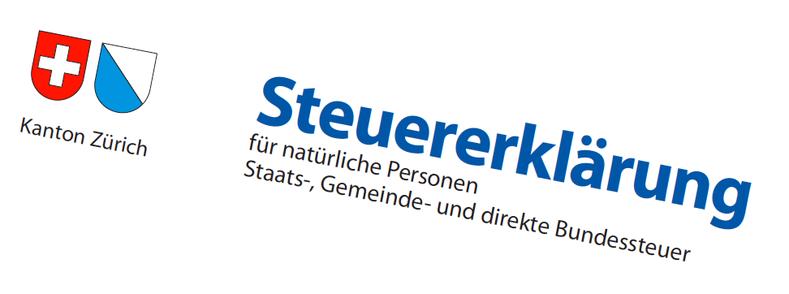 Steuererklärung Kanton Zürich