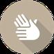 Link Symbol Therapien - zwei behandelnde Hände
