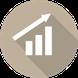 Link Symbol betriebliches Gesundheitsmanagement - Erfolgskurve